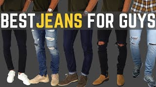 TOP 6 MUST HAVE Jeans For Guys | Best FITTING Affordable Denim