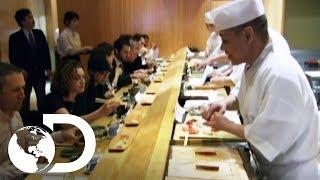 Curiosidades y mitos del sushi | ¿Cómo lo hacen? | Discovery Latinoamérica