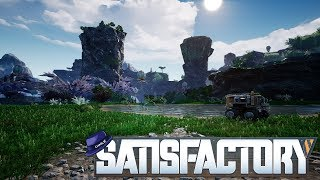 Satisfactory: 'New World' - Part 11 - Hunting Power Slugs - Satisfactory Gameplay
