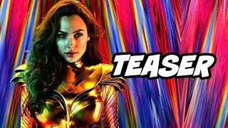 Wonder Woman 1984 Teaser and Why DC Cancelled Comic Con and Swamp Thing