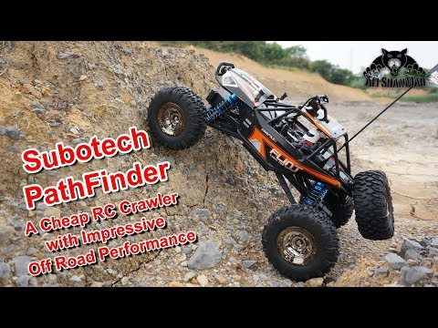 Subotech Pathfinder Cheap Electric RC 4WD Crawler That Performs