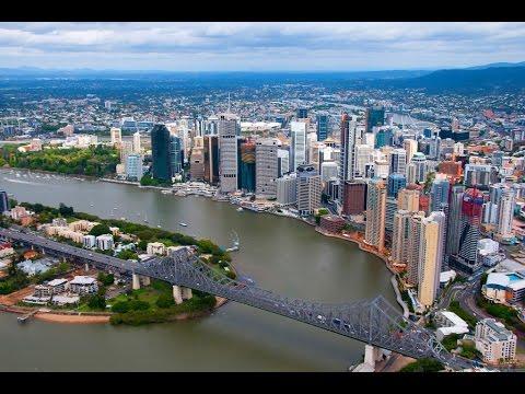 Брисбен является австралийский мегаполис, вдоль реки, городская агломерация Квинсленда
