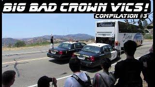 Big Bad Crown Vics In Action #3 Compilation Ford Interceptor P71
