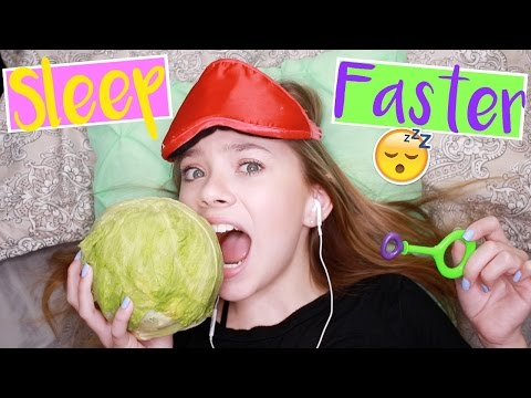 WEIRD Ways to Fall Asleep FAST! Life Hacks for When You Can't Sleep! | Sasha Morga