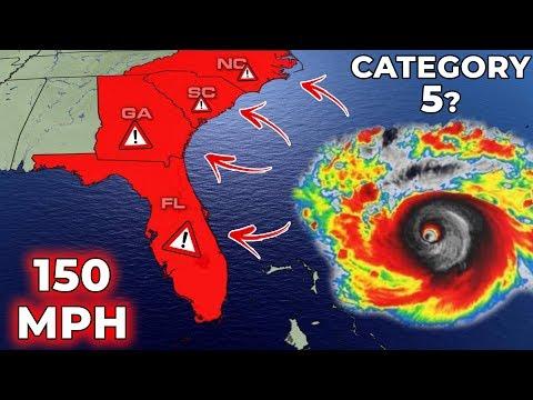 45,000,000 People Under State Of EMERGENCY | Hurricane Dorian Update #3