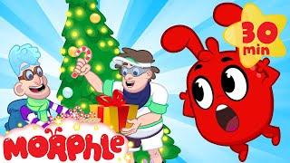 The Good Christmas Bandits! My Magic Pet Morphle | Cartoons For Kids | Morphle TV | BRAND NEW