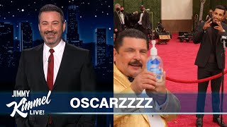 Jimmy Kimmel on the 2021 Oscars & Guillermo on the Red Carpet!