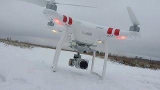 Бюджетный Фантом ... Квадрокоптер DJI Phantom 3 standard