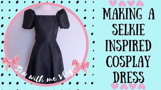DIY How to Sew a Cosplay Dress  HUGE Sleeves Dress  | Sewing, Making & Crafting