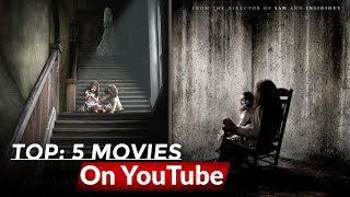 Top 5 Hollywood Movies Dubbed In Hindi Available On YouTube. Movies on YouTube