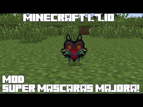 Minecraft 1.7.10 MOD SUPER MASCARAS DE MAJORA! Majora's Maskcraft Mod Español!