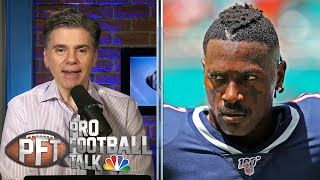 Why Antonio Brown will give NFL teams pause before signing him | ProFootballTalk | NBC Sports