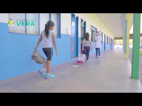 Imagen da Vídeo - Prefeitura Municipal de Vera volta às aulas.
