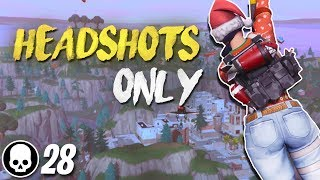 8 HUNTING RIFLE HEADSHOTS IN A ROW! Final Fight LTM Gameplay (Fortnite Battle Royale)