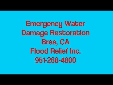Water Damage Restoration Brea CA