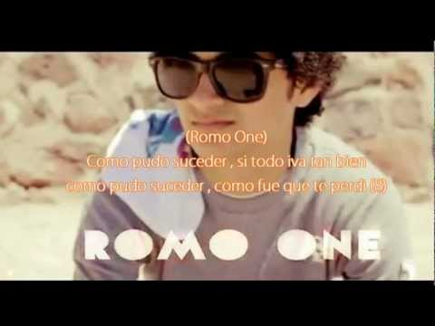 Romo One Ft McAlexiz  - Como Fue Que Te Perdí (Con Letra) [Rap Romántico De Desamor 2012 ]