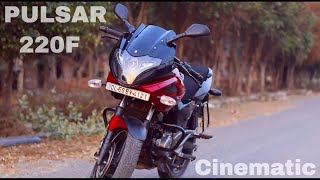 Bajaj Pulsar 220F {Cinematic} Awesome Bike 🔥🔥🔥