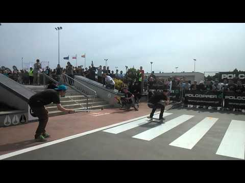 Martin Pek - gap to crooked - Back To The Street Leszno 2015