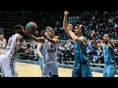 Avtodor vs Astana Highlights November, 16 | 2019-20