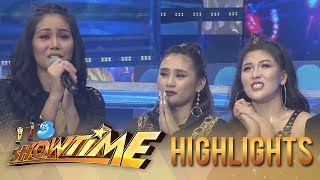 Girltrends gets emotional after performing | It's Showtime