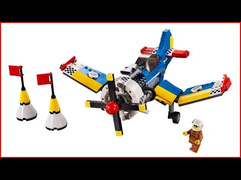 Vidéo LEGO Creator 31094 : L'avion de course
