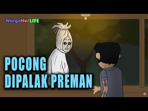 Warkop pocong kena pajak   animasi horor kartun lucu   warganet life