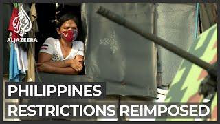 Philippines Surge: Restrictions Reimposed In Manila