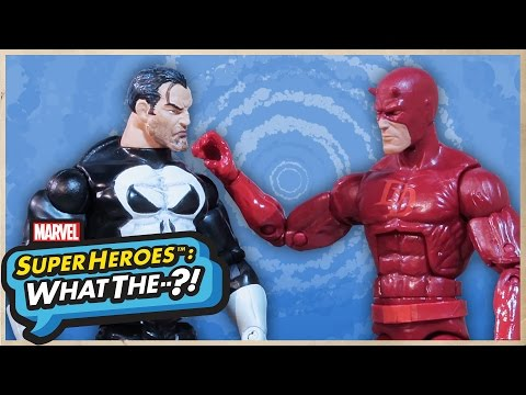 Daredevil vs. Punisher - Marvel Super Heroes: What The--?! | MTW