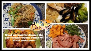 What's For Dinner? Lots of Dinner Ideas!   & Our Christmas Eve Feast!