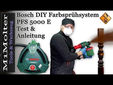 Bosch PFS 5000 E Feinsprühsystem - ausführlicher Test von M1Molter