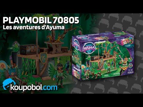 Vidéo PLAYMOBIL Ayuma 70805 : Camp d'entraînement des fées