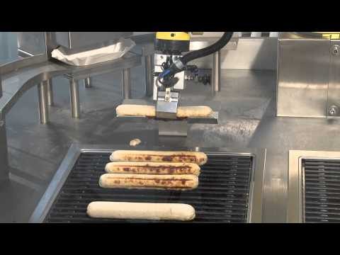 Spinner automation Currywurst Roboter