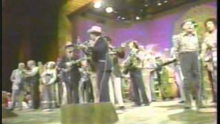 Bill Monroe, Tom T. Hall, Doc Watson, Raymond Fairchild Grand Ole Opry 1979