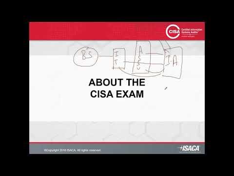 ISACA CISA Training Material