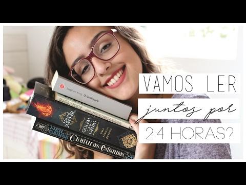 A MAIOR MARATONA LITERÁRIA 24H QUE VOCÊ RESPEITA | Apresentação