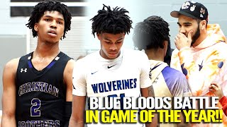 JAYSON TATUM WATCHES BROTHERS BATTLE FOR THE CITY!! UNC's Caleb Love vs. Kentucky's Cam'Ron Fletcher