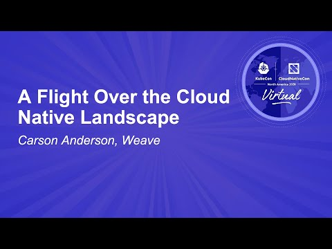 Image thumbnail for talk A Flight Over the Cloud Native Landscape