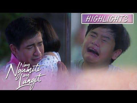 Joseph cries when Mikmik reunites with her father | Nang Ngumiti Ang Langit