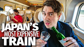 Inside Japan's Most Expensive Bullet Train | $750 Seat