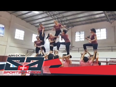 The Score: Preparing for the NCAA Season 92 Cheerleading Competition