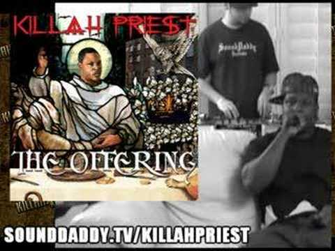 Killah Priest - SoundDaddy Studio - March 2008