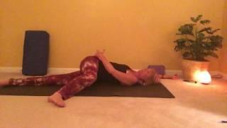 Yoga Starfish Twist
