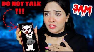 DO NOT TALK TO *Angela* at 3 AM Challenge| *Gone Wrong* | Nilanjana Dhar