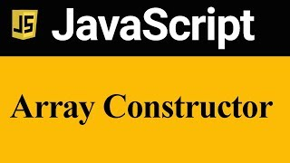 Declaration and Initialization of Array using Array Constructor in JavaScript (Hindi)