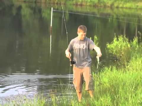 Alabama farm pond fishing, part one