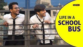 Life in a SCHOOL BUS | School Life | Funcho Entertainment