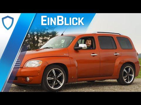 Chevrolet HHR LT 2.4 (2009) - HaHaRetro oder praktischer Exot? Test & Review