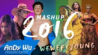 """MASHUP 2016 """"WE WERE YOUNG"""" (Best 90 Pop Songs) - 2016 Year-End Mashup by #AnDyWuMUSICLAND"""