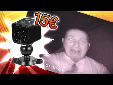 Mini-Kamera mit Nachtsicht? 🎥 QUELIMA SQ13 [Review, Technik, German, Deutsch]