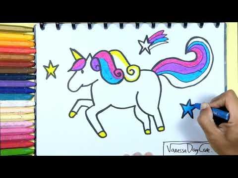 Catatanku Anak Desa Gambar Untuk Mewarnai Kuda Poni